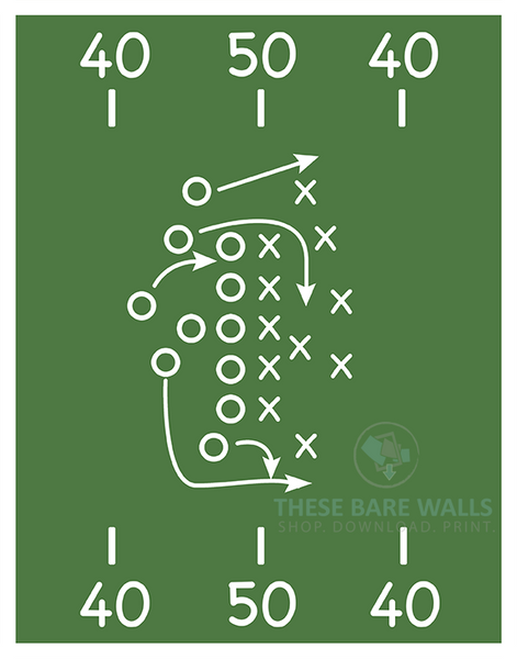 image regarding Printable Football Field called Sporting activities Sector Printable Wall Artwork