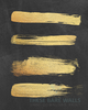 Gold Strokes on Chalkboard Printable Wall Art - These Bare Walls - 2