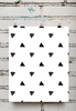 Black and White Pattern Printable Wall Art - These Bare Walls - 3