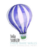 Hello World Balloon Printable Art - These Bare Walls - 3