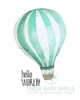 Hello World Balloon Printable Art - These Bare Walls - 2