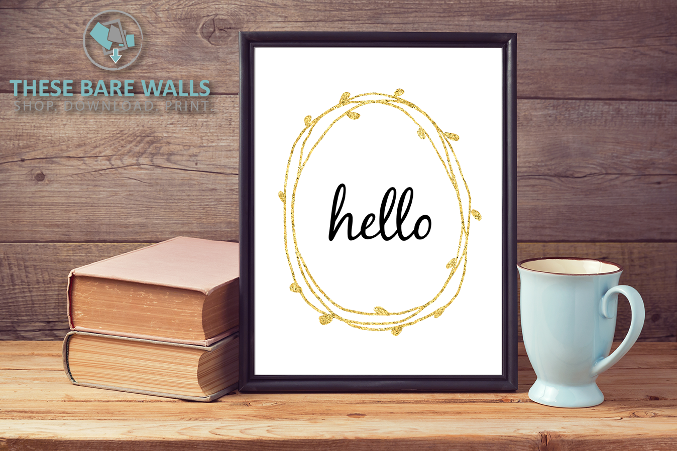 Hello Wreath - These Bare Walls - 1