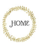 Gold Wreath Home Printable Art - These Bare Walls - 2