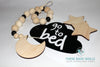 The Stella Over The Moon Wood Beaded Garland - These Bare Walls - 3