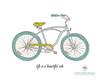 Life Is a Beautiful Ride Bicycle Printable Wall Art - These Bare Walls - 3