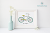 Life Is a Beautiful Ride Bicycle Printable Wall Art - These Bare Walls - 4