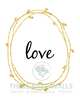 Love Wreath Printable Wall Art - These Bare Walls - 2