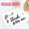 Think Different Package Insert - These Bare Walls