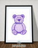 Teddy Bear Printable Wall Art - These Bare Walls - 3