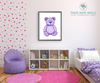 Teddy Bear Printable Wall Art - These Bare Walls - 4
