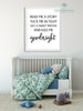 Read Me A Story Tuck Me In Tight Nursery Print - Engineering Print - Printable Art - These Bare Walls - 2