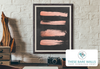Rose Gold Strokes on Chalkboard Printable Wall Art - These Bare Walls - 3