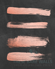 Rose Gold Strokes on Chalkboard Printable Wall Art - These Bare Walls - 2
