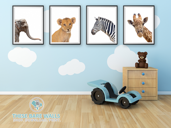 Safari Animal Prints - These Bare Walls - 1