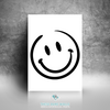 Smiley Face Printable Wall Art - These Bare Walls - 2