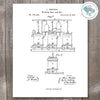 Brewing Beer Patent Print - These Bare Walls - 1