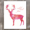 Deer Wild and Free Printable Art - These Bare Walls - 2