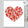 Dotted Valentine Printable Art - These Bare Walls - 1