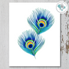 2 Peacock Feathers Printable Art - These Bare Walls