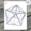 Geometric Polygon Printable Wall Art - These Bare Walls - 3