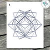 Geometric Polygon Printable Wall Art - These Bare Walls - 4