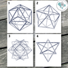 Geometric Polygon Printable Wall Art - These Bare Walls - 1