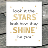 Look at the Stars Look how they Shine for you Printable Art - These Bare Walls - 1