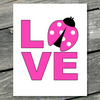 Love Ladybug Printable Art - These Bare Walls