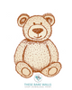 Teddy Bear Printable Wall Art - These Bare Walls - 6