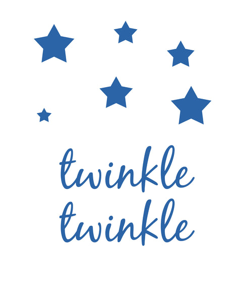 Twinkle Twinkle Printable Art - These Bare Walls - 1