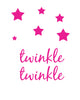 Twinkle Twinkle Printable Art - These Bare Walls - 2