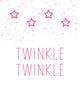 Twinkle Twinkle Small Stars - These Bare Walls - 1