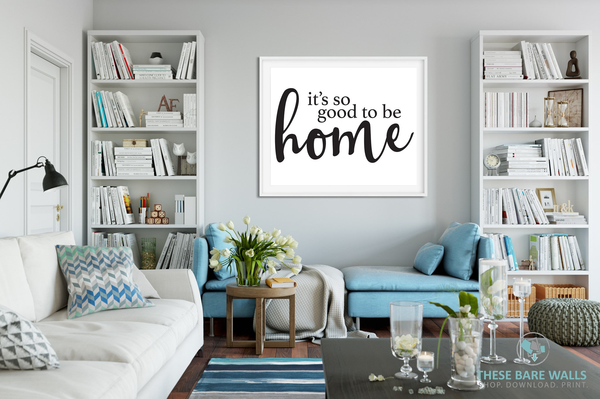 Its So Good To Be Home Print