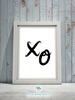 XO's Printable Wall Art - Series 2 - These Bare Walls - 2