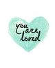 You Are Loved Printable Art - These Bare Walls - 2