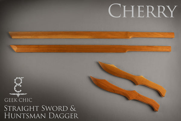 The Straight Sword and Huntsman Dagger Sets