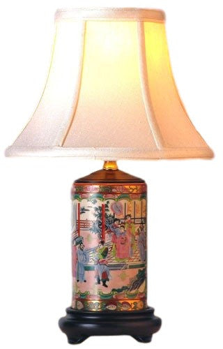 Rose Medallion Accent Lamp