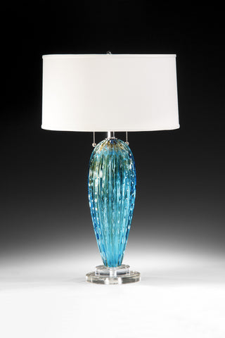 Decorative Crafts Venetian Glass Lamp 7064