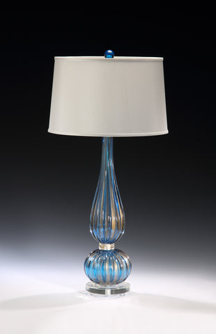 Decorative Crafts Venetian Glass Lamp 7072