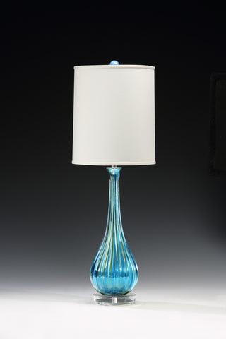 Decorative Crafts Venetian Glass Lamp 7094