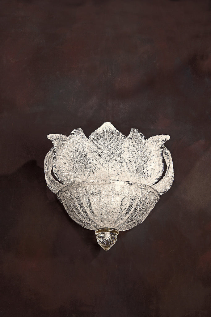 Decorative Crafts Venetian Glass Sconce 7309