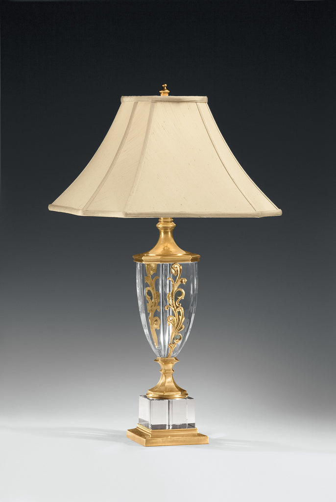 Decorative Crafts Brass & Crystal Lamp 8141