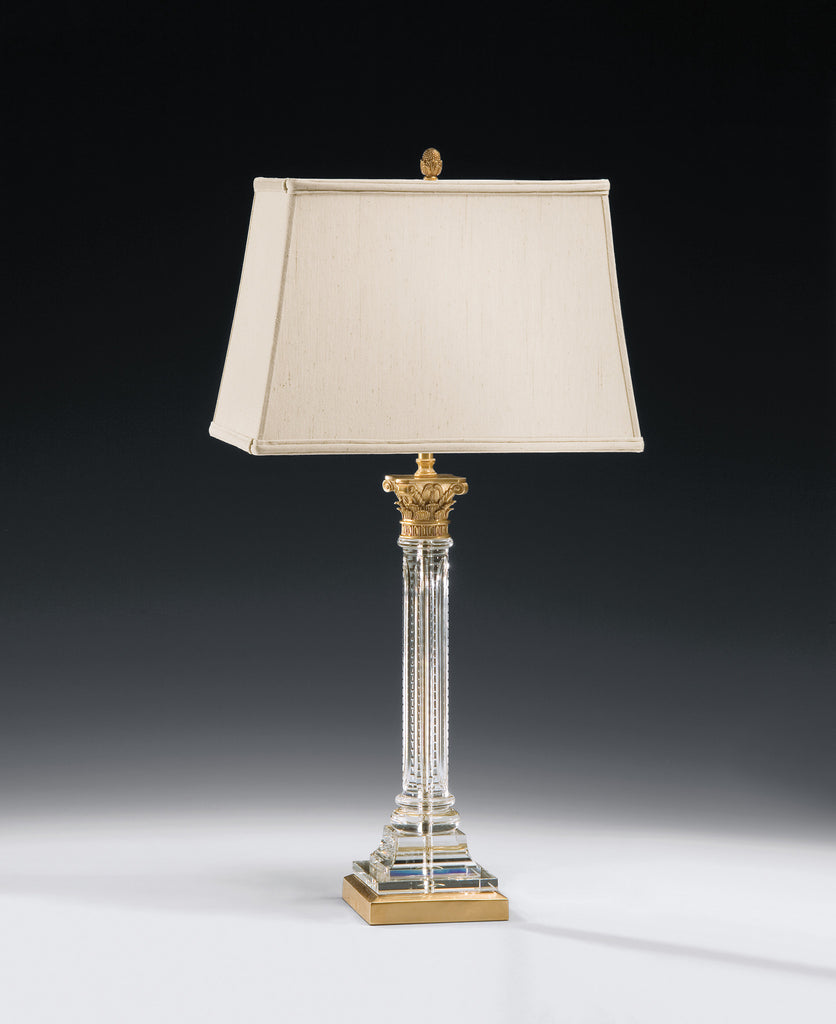 Decorative Crafts Brass & Crystal Lamp 8215