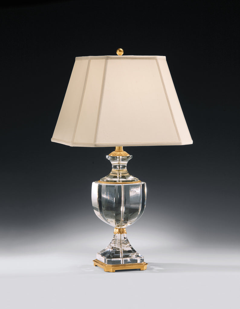 Decorative Crafts Brass & Crystal Lamp 8268