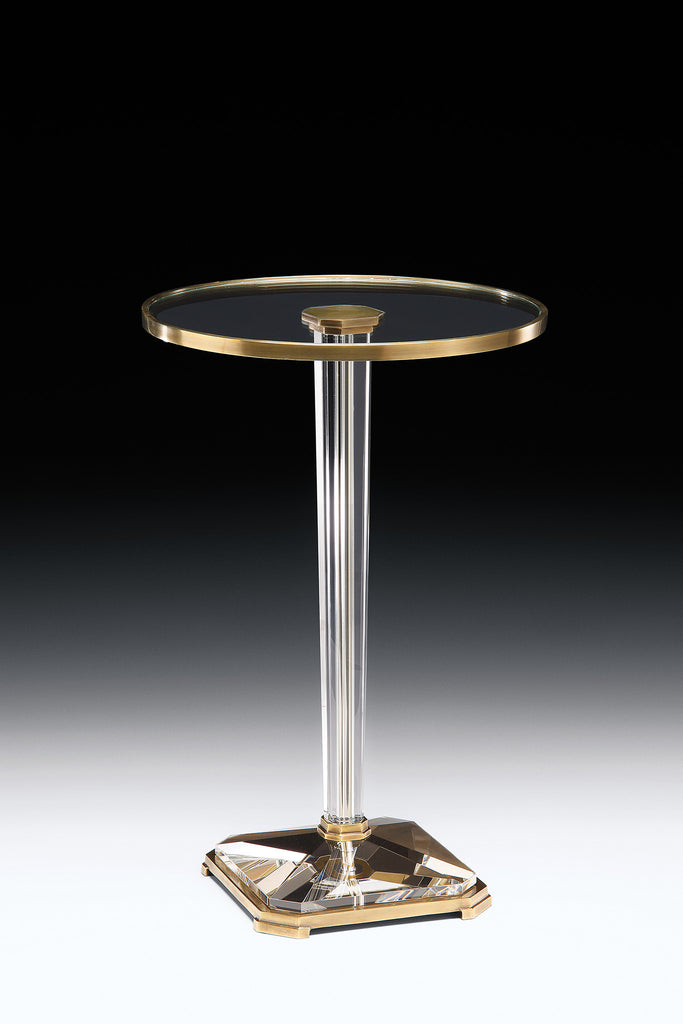 Decorative Crafts Brass & Crystal Table 8404