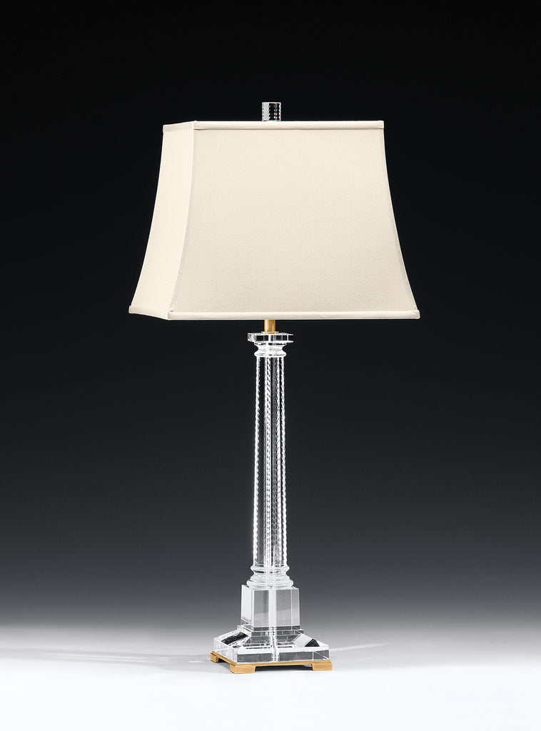 Decorative Crafts Brass & Crystal Lamp 8455