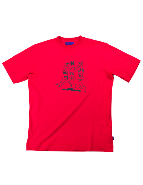 TNO BEACHBABES Tee | Red
