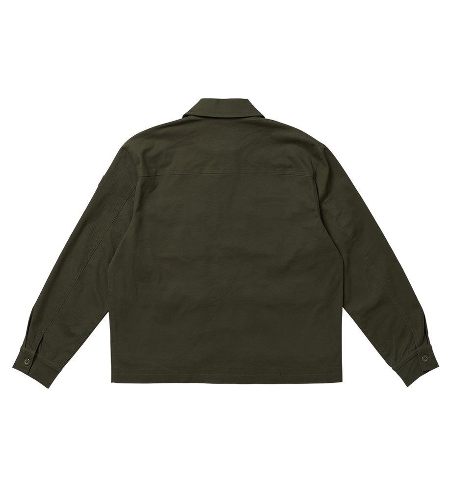 Multi Pocket Jacket Dark Green