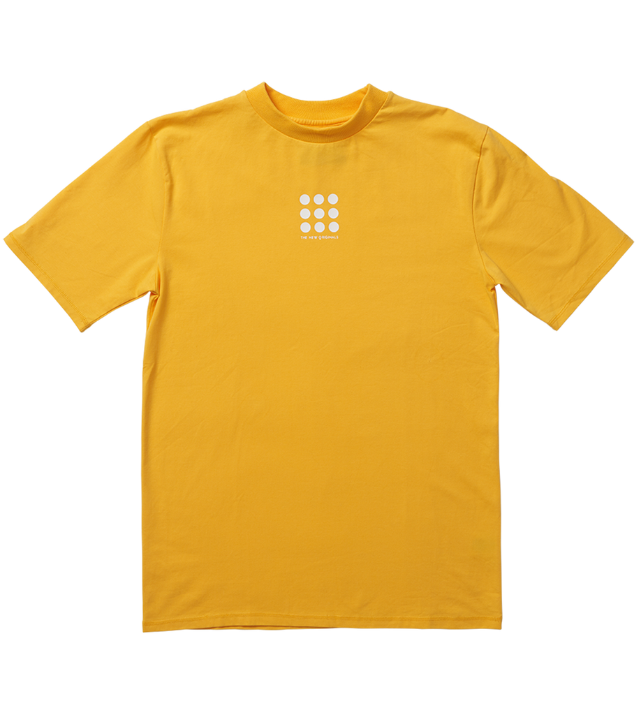 Nine Dots Tee Yellow