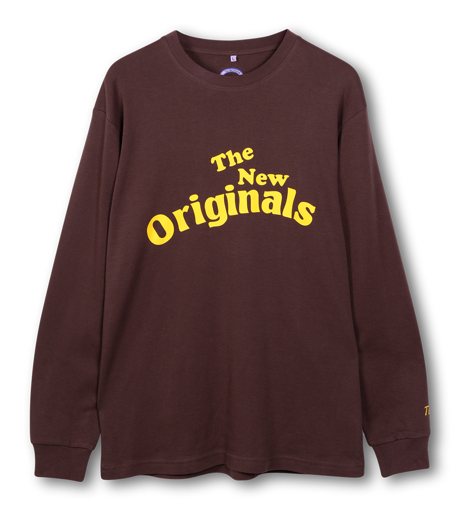 Workman Longsleeve Brown/Yellow